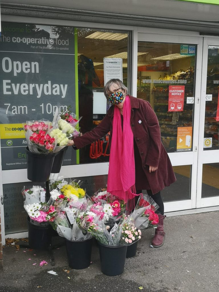 The wellbeing of shop workers gets little consideration, says Molly Scott Cato, pictured outside a store in Stroud.