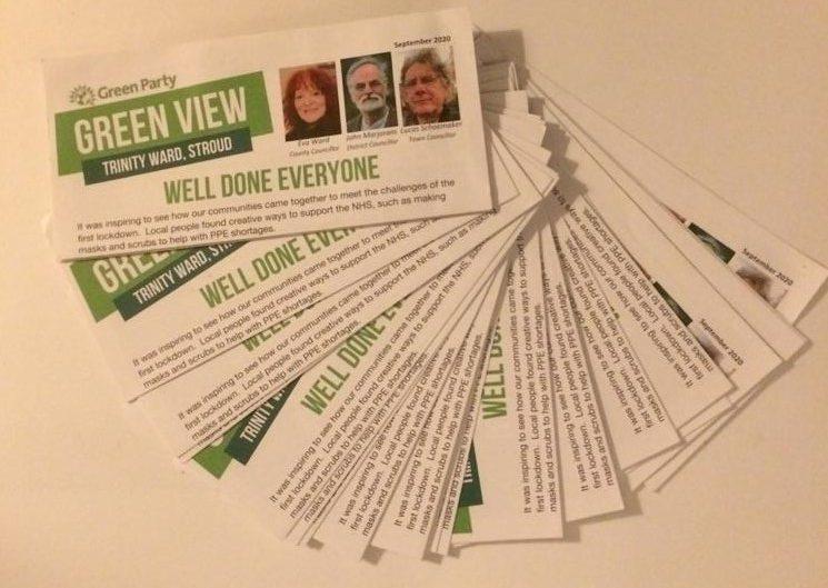 some leaflets