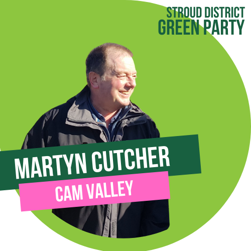 martyn cutcher - county council candidate for cam valley