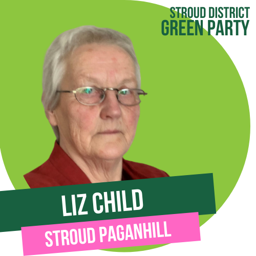 Liz Child - town council candidate for Stroud Paganhill