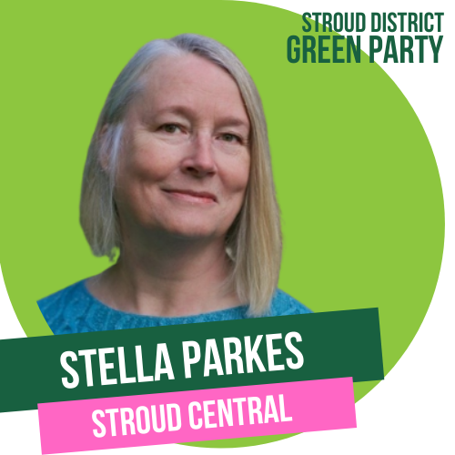 Stella Parks - Town council candidate for Stroud Central