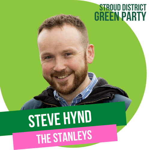 Steve Hynd - district council candidate for The Stanleys