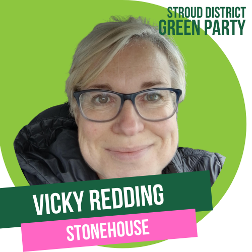 VICKI REDDING - district council candidate for stonehouse