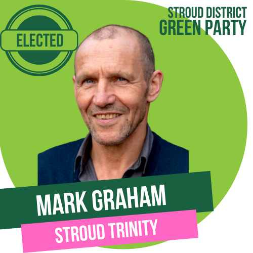 Mark Graham has been elected as Town Councillor for Stroud Trinity